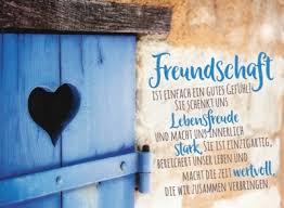 Goldbek Freundschaft Schenkt Lebensfreude Blaue Herztür