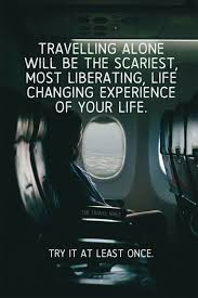 Travel Alone Quotes