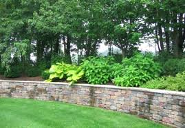 retaining wall ideas for backyard designs design landscaping network best sloped front yard