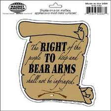com right to bear arms second amendment magnet automotive right to bear arms second amendment magnet