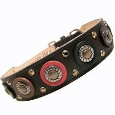 atc leather toby dog collar