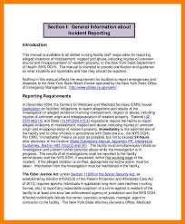 10 Examples Of Incident Report Writing Pennart Appreciation Society