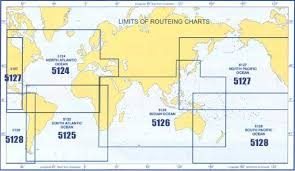 Routeing Charts Information Admiralty Routeing Chart North Pacific Ocean