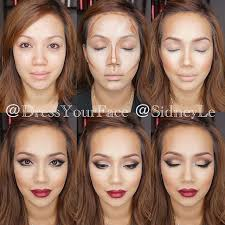makeup tutorial highlighting and contouring with younique s bb cream gives you a flawless glowing face