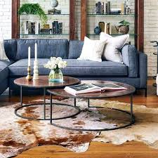 nested coffee tables copper clad round nesting coffee tables black round nesting coffee tables nest of