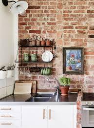 Brick wall kitchen - COCO LAPINE DESIGN ...