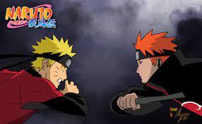 Naruto Vs Pain by AlysonKof on DeviantArt
