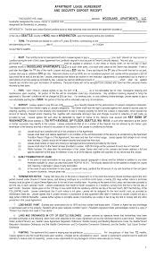 Sample Apartment Lease Agreement Best Photos Of Apartment Rental Lease Agreement Template Apartment 18
