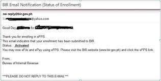 Awesome Collection Of How To Register With The Bir Efps Efiling And