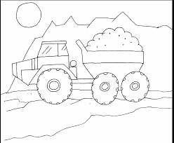 Truck Colouring Pages For Toddlers Truck Colouring Pages For