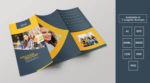 tri fold school brochure template education brochure design brickhost 83fcd385bc37