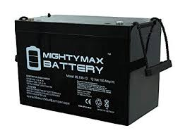 Mighty Max Battery 12V 100Ah Battery for Crown ... - Amazon.com