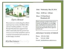 Open House Invitation Wording Westcountry Co