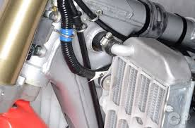 crf150r crf150rb expert service manual honda cyclepedia radiator inspection