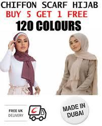 Chiffon Scarf Hijab <b>High Quality Elegant</b> Sarong Shawl Wrap Plain ...