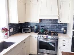 Tile For Kitchens Blue And Copper Subway Tile Kitchen