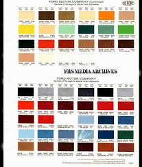 Interior Color Chart Ford Interior Color Codes Wiring Schematic Diagram