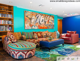 colorful living room furniture. living room furniture arrangement in the bright interior colorful t