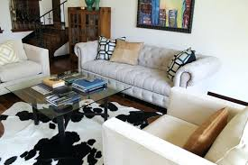 cowhide rug living room ideas contemporary living room design for small apartment ideas with cowhide rug