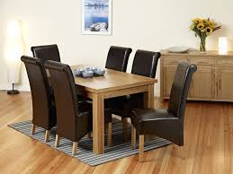 oak extending dining table extending dining table and 6 dining chairs from the view larger john lewis solid oak extending dining table