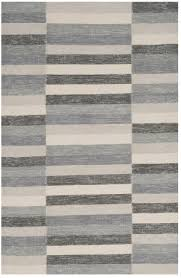 safavieh striped kilim stk411c grey area rug