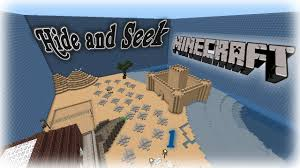 minecraft new map  hide and seek  youtube