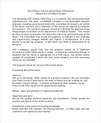 Word Thesis Template Thesis Proposal Template Word Magdalene Project Org