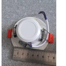 Đèn LED Âm Trần Downlight Rạng Đông Đổi 3 Màu D AT10L DM 60/3W, Khoét lỗ  60, Vỏ Nhôm Đúc - Viền Vàng giá cạnh tranh
