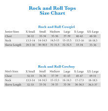 Rock N Roll Jeans Size Chart 39 Meticulous Wrangler Rock 47 Size Chart