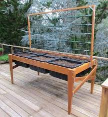 raised planter boxes garden plans free standing beds