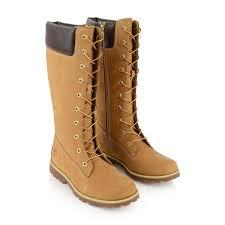 Childrens Designer Boots Sale Timberland Girls Wheat Asphalt Trail Long Boots Girls
