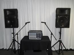 sound system rental. medium sound system rental
