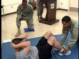 Army Apft Sit Up Chart Apft Sit Up Instructions