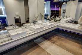 gym locker ideas bathroom industrial with front desk contemporary mosaic backsplash wall tiles