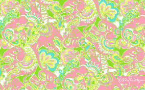 Lilly Pulitzer Patterns Lilly Pulitzer Elephant Print