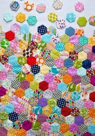 Scrappy Giant Hexagon quilt | Hexagon quilting, Blog and Patchwork &  Adamdwight.com