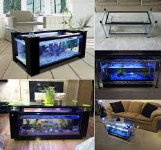 VIEW IN GALLERY How To DIY Aquarium Coffee Table f Spectacular DIY Fish  Tank Coffee Table Free Guide and