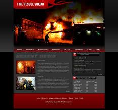 Flash Website Templates Closed Flash Fire Deparetment Site Free Website Templates 13