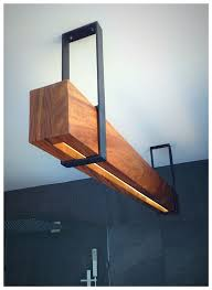 wood lamp pipe sconce version or hanging