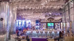 best hotel bars chandelier bar