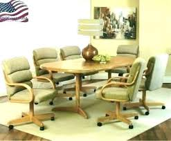 rolling dining chair dining room chairs with arms and casters dining chair caster dining table with