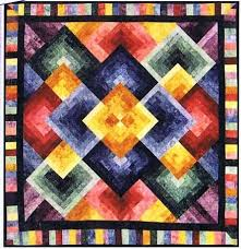 181 best Gradation Quilts images on Pinterest | Artists, At home ... & Flying Colors Quilt Pattern by Cozy Quilt Designs at Creative Quilt Kits Adamdwight.com