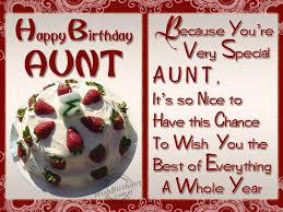 Happy Birthday Aunty Quotes Lovely Meme