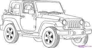 amazing jeep coloring pages cherokee safari colouring car wrangler sheets army
