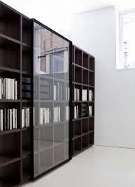 interior bookshelves with sliding doors delightful bookshelvesh sliding doors bookcase bookshelf glass shelf cabinet barn