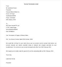 Letter Of Termination Landlord Lease Termination Letter Termination ...