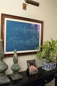 image result for framed blueprints