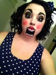 my ventriloquist doll makeup