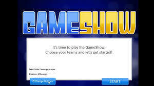 Powerpoint Game Show Template Introduction To The Powerpoint Gameshow Template Youtube