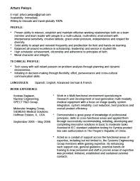 Study Abroad Resume Sample Study Abroad Resume Sample Resume For Study Abroad Application